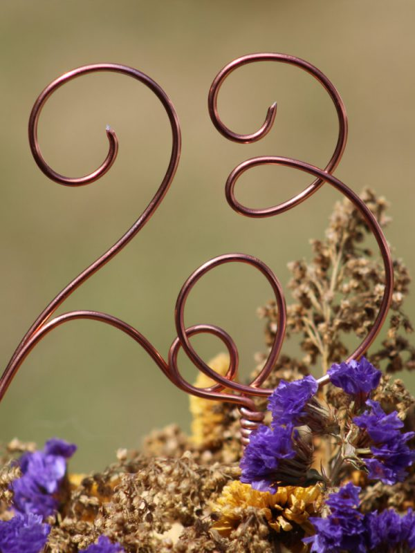 Table numbers - Beach Rustic Country Chic Wedding