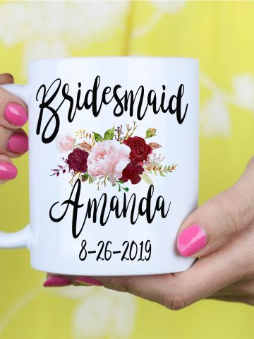 Bridesmaid Gift - Maid of Honor gift - Matron of Honor Gift